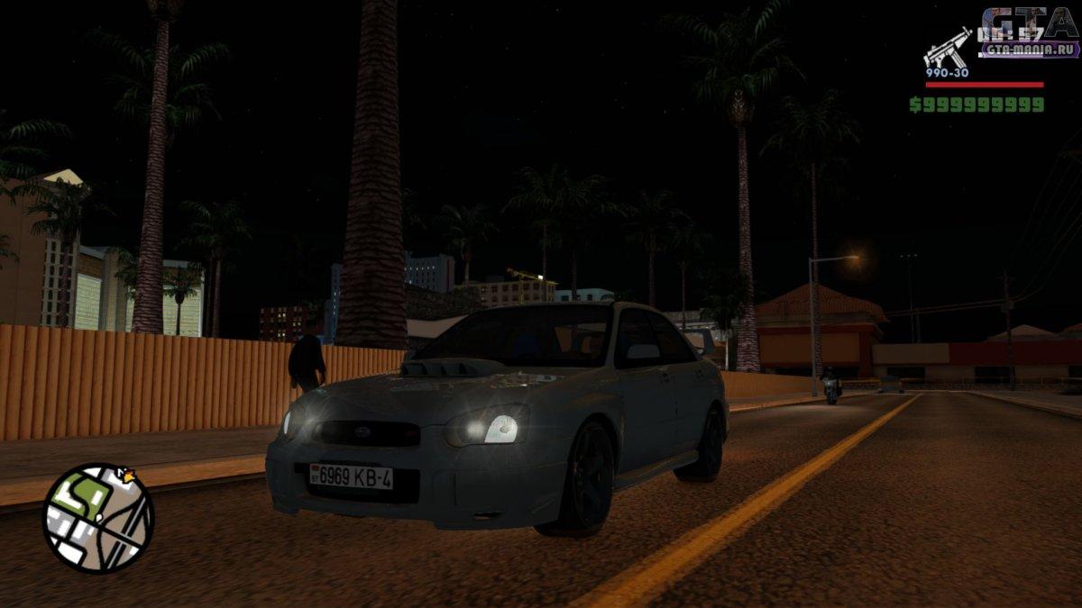 Subaru Impreza WRX STi для GTA San Andreas субару импреза врх сти