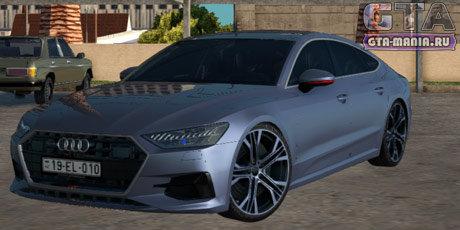 Audi A7 2020 для GTA San Andreas ауди а7 гта сан андреас