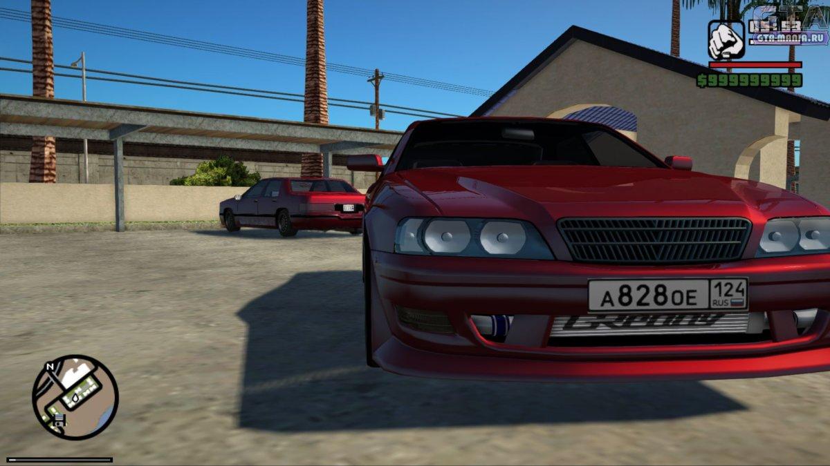 Toyota Chaser Tourer для GTA San Andreas тойота чайзер турер гта са