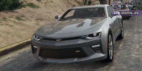 Chevrolet Camaro SS 2016 для GTA 5