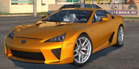 Lexus LFA 2011 для GTA San Andreas